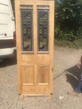 Internal Louis Stained Glass Door.