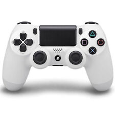 Sony PlayStation 4 White Controllers and Attachments