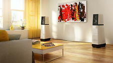 Tableau abstrait pour salon hifi en panneaux acoustique avec mousse absorbante