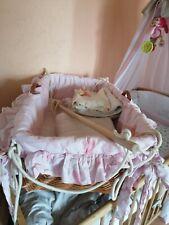 Baby Weidenkorb Federwiege