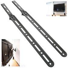 Vivo Universal Sound Bar Bracket Speaker Mount Below or Above Wall Mounted TV