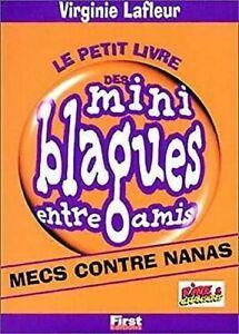 Le Petit Livre Des Mini Blagues Entre Amis , Tome 4: Mecs Contre Nanas