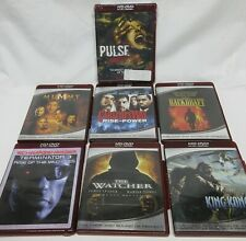 HDDVD HD DVD 6 MOVIE LOT CARLITOS WAY BACKDRAFT MUMMY TERMINATOR KING KONG PULSE