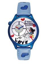 Orologio Braccialini Love Tua155/ba Cuori Azzurro Blu
