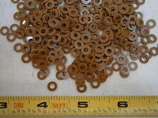 Flat Washers .250 x .130 x .031 Phenolic Grade X.P. Lot of 100 #4112