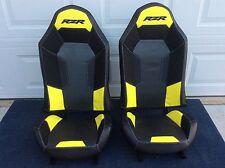 Polaris RZR XP1000 Seats Black/Lime - 1 Pair #2 stock