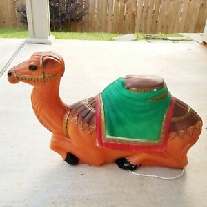 Vintage Empire Camel Blow Mold Light Up Christmas Nativity #1