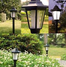 Outdoor Solar Power LED Path Way Wall Landscape Mount Garden Fence Lamp Light FS