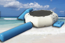 20x15 Commercial Inflatable Water Slide Floating Trampoline Course Bounce House