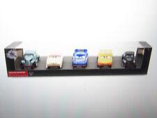 DISNEY STORE CARS 3 DELUXE 5-PACK LOUISE RASH, RIVER SCOTT, JUNIOR MOON,MCQUEEN