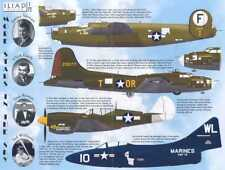 Iliad Decals 1/72 MORE STARS IN THE SKY Hollywood Celebrities in Air Combat
