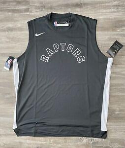 Nike NBA Toronto Raptors Sleeveless Warm Up Shooting Jersey AV0979-060 LT
