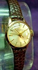 SERVICED~1950s OLMA Swiss 21 Jewel~Petite Gold Plated Womens Watch~SIGNED 5X !