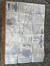 New ListingVintage 1979 Santa Barbara County Map By Title Insurance And Trust A Ticor Comp