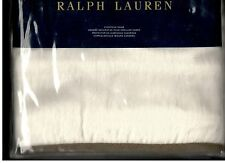 Ralph Lauren Bellosguardo Solid Cream Taupe Brown Euro Sham Linen New