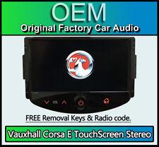 Vauxhall Corsa E Touchscreen car stereo, Bluetooth Handsfree, DAB Radio, AUX USB