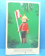 """Hallmark """"CLOTHESPIN SOLDIER"""" Ornament  Dated 1984"""