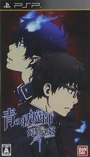 Used PSP   Ao no Exorcist  Genkoku no Labyrinth  SONY PLAYSTATION JAPAN IMPORT