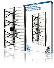 DVB-T und UHF-Flachantenne für den Außenbereich, 14dB - VLS-UHF10L