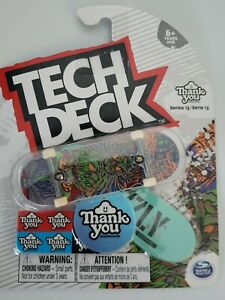 Tech Deck Thank You Series 13 Fingerboard Skateboard Ultra Rare Torey Pudwill