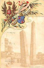 643) CIRCOLO UFFICIALI BOLOGNA, LE DUE TORRI. VIAGGIATA.