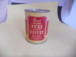 Alte Blechdose - Ground Coffee - Navy - Army - Air Force - London - Not Open -