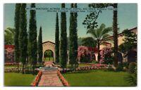 Rollins College Sanctuary, Chapel, Theatre, Winter Park, FL Postcard *332