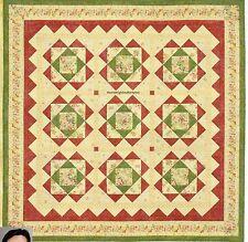 Aunt Bea's Garden Quilt Pattern Pieced NM