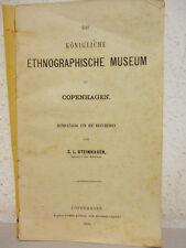 Steinhauer - Kgl. Ethnograph. Museum Kopenhagen – 1886
