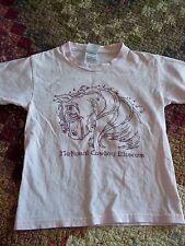 Girls Size  Horse Tshirt Tee,National Cowboy Museum,Fair Shape, Free Shipping!