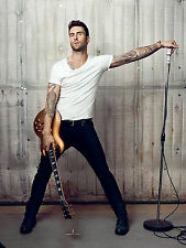 ADAM LEVINE - MAROON 5 8X10 GLOSSY PHOTO PICTURE IMAGE #3