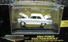 1964 Ford Fairlane Thunderbolt WHITE 1:64 Ertl American Muscle 32654