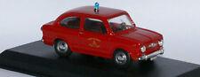 Tel Model 04 Fiat 850 LH drive Fire car in 1:43