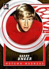 2012-13 ITG Motown Madness Gold #138 Garry Unger