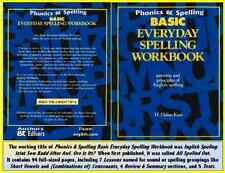 Phonics & Spelling Workbook, Basic: Patterns & Principles of English Spelling.