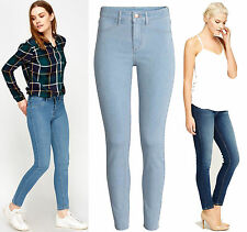 Womens New Ladies Zara Slim fit Denim Jeans Pants Trousers Size UK 6 8 10 12 14