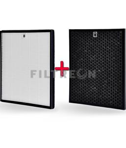 Filtreon Ersatzfilterset für Philips FY3433/10 und FY3432/10 Kombi (2in1)