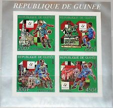 GUINEA 1993 Klb 1403-06 a B MS 1221-24 Soccer World Cup 1990 Italy gold ovp MNH