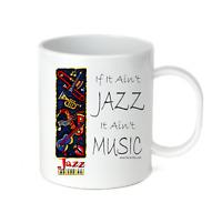 Coffee Cup Mug Travel 11 15 oz If It Ain't Jazz It Ain't Music