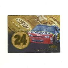1997 JEFF GORDON PINNACLE MINT GOLD PARALLEL INSERT #24 - HENDRICK MOTORSPORTS