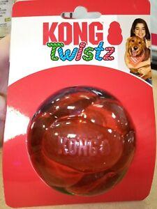 Kong Twistz Ball Size Large Heavy Duty Dog Toy