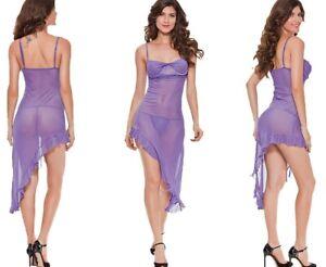 Women Sexy Babydoll Nightdress Lingerie Intimate Nightwear Sleepwear, One Size