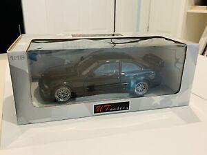 1/18 UT Models BMW E36 M3 GTR Black