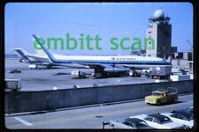 Original Slide, Eastern Air Lines Douglas DC-8, in 1968