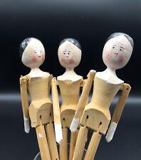 Alte Grödner Gliederpuppe Dutch Dolls 26cm