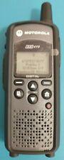 Mint Motorola Dtr410 Two Way Digital Business Radio Walkie Talkie Portable