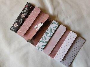 Handmade envelopes various designs wallet envelope pocket journals happy mail