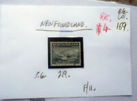 "NEWFOUNDLAND 25c stamps F/U.Sealing Fleet, ""Off for the Hunt"""