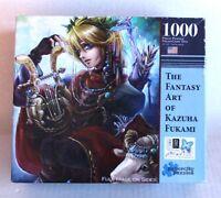 "1000 Piece Navigator by The Fantasy Art of Kazuha Fukami Jigsaw Puzzle 25 x 18"""