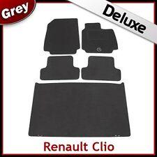 RENAULT Clio 2005 2006 2007 2008 2009 su misura LUSSO 1300g auto + le stuoie di avvio Grigio